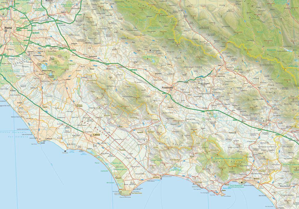 Cartina Italia Modificabile.Mappa Dell Italia Pdf Vettoriale Scala 1 200 000 Edimap