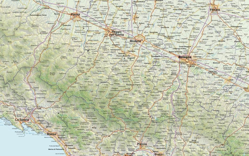 Cartina Stradale Italia Centro Nord.Cartografia Stradale Dell Italia Pronta Da Stampare Edimap
