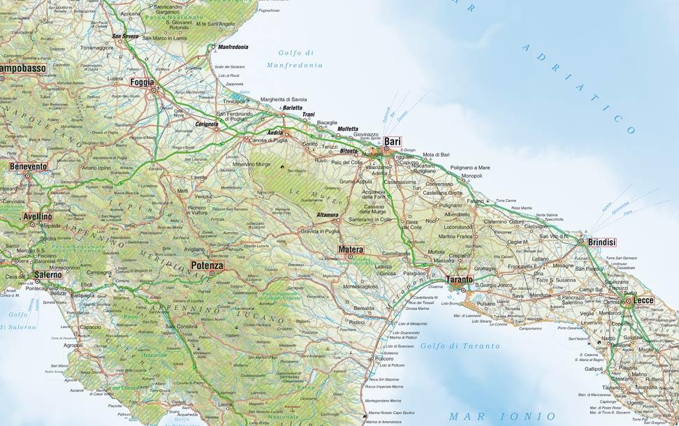 Cartina Italia Stradale Da Stampare.Cartina Stradale Dell Italia Per La Stampa Formato Poster Edimap
