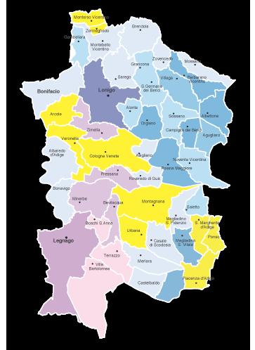 Cartina Comuni Veneto.Le Mappe Dei Confini Dei Comuni Italiani In Pdf Vettoriale Edimap