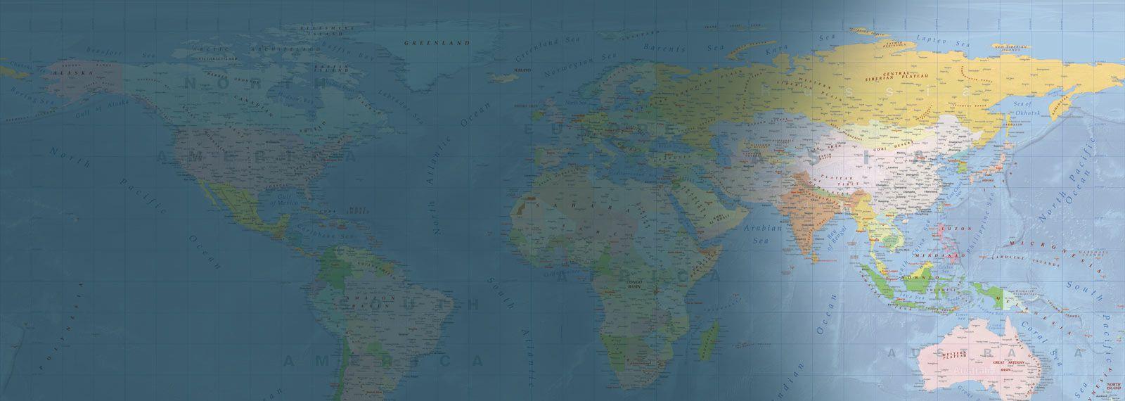Cartina Mondo Scaricabile.Carte Geografiche E Atlanti Del Mondo Da Stampare Edimap