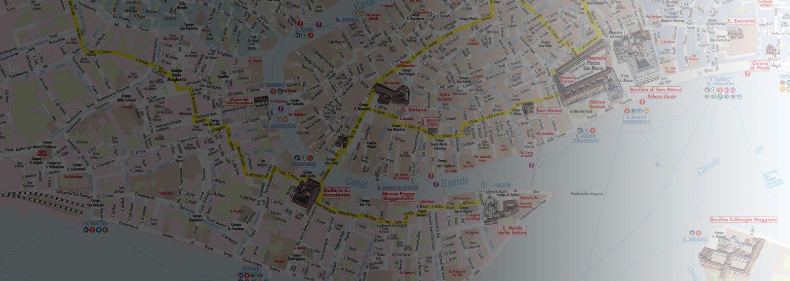 Cartina Turistica Di Venezia.Mappa Di Venezia Pdf Vettoriale Con Monumenti 3d Edimap