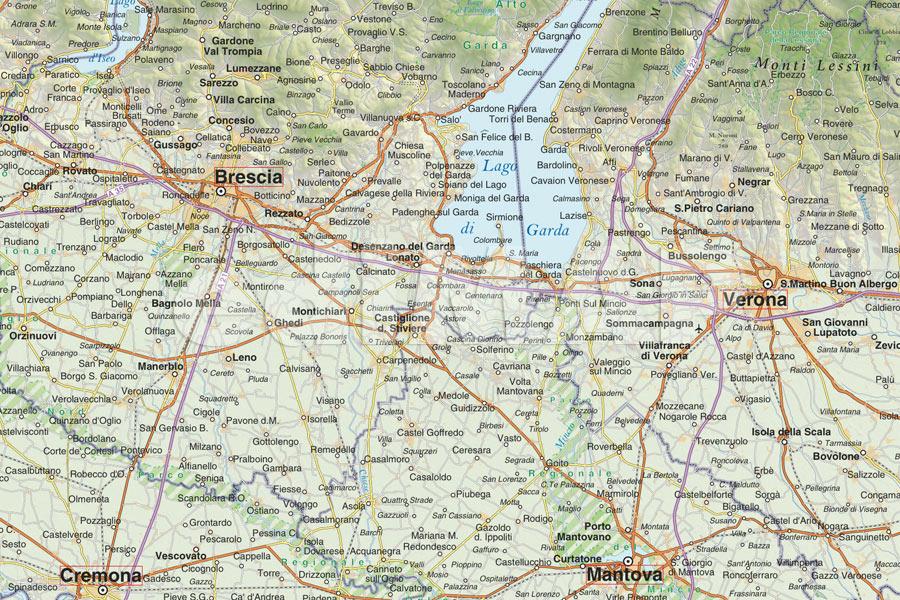 Cartina Stradale Lombardia Da Stampare.Mappe Digitali E Cartografia Da Stampare Edimap