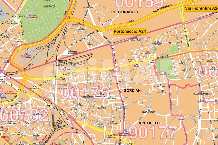 Centro Storico Cartina Geografica Roma.Mappe Digitali E Cartografia Da Stampare Edimap