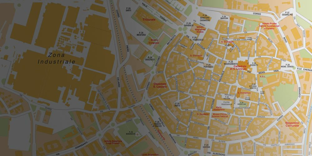 Alba Cartina Geografica.Cartine Delle Citta Da Scaricare E Stampare Edimap