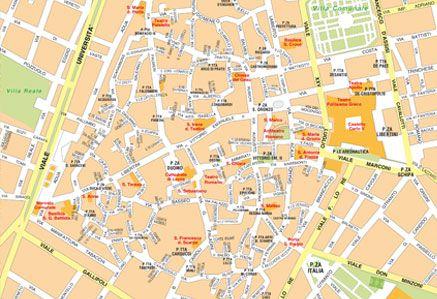 Centro Storico Cartina Geografica Roma.Cartine Delle Citta Da Scaricare E Stampare Edimap
