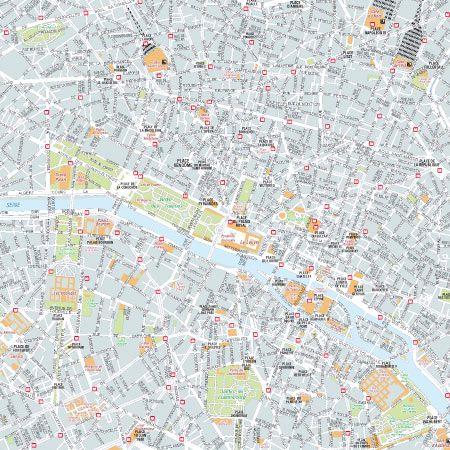 Cartina Centro Di Parigi.Cartine Turistiche Delle Citta Del Mondo Per La Stampa Edimap
