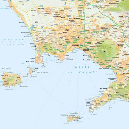 Provincia Di Napoli Cartina.Mappa Di Napoli Pdf Turistica Da Stampare Edimap