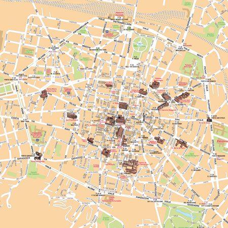 Turistica Bologna Cartina.Mappa Di Bologna Pdf Vettoriale E Personalizzata Edimap