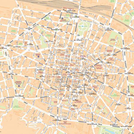 Mappa Bologna Cartina.Mappa Di Bologna Pdf Vettoriale E Personalizzata Edimap