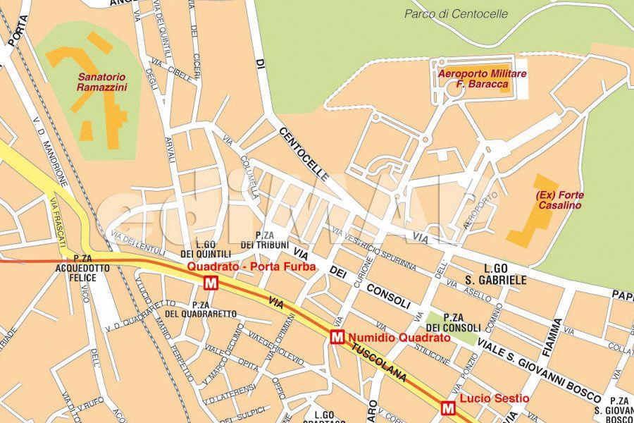 Roma Cartina Turistica Da Stampare.Mappa Di Roma Pdf Vettoriale E Tiff Da Stampare Edimap