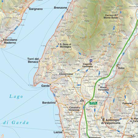 Cartina Topografica Lago Di Garda.Realizzazione Di Mappe Dei Sentieri Personalizzate Edimap