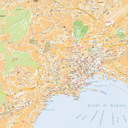 Cartina Stradale Di Napoli Citta.Mappa Di Napoli Pdf Turistica Da Stampare Edimap