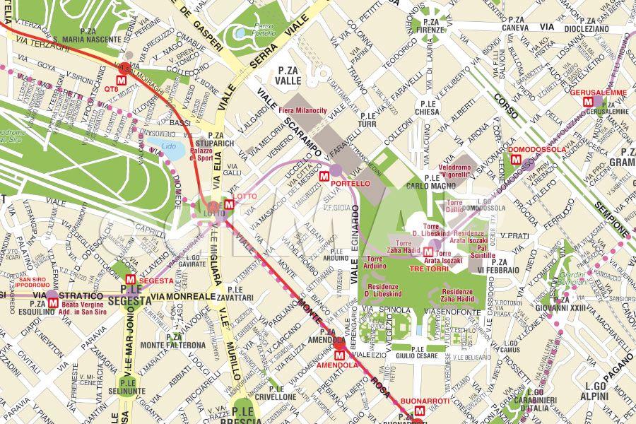 Cartina Stradale Sardegna Pdf.Milano Cartina Turistica